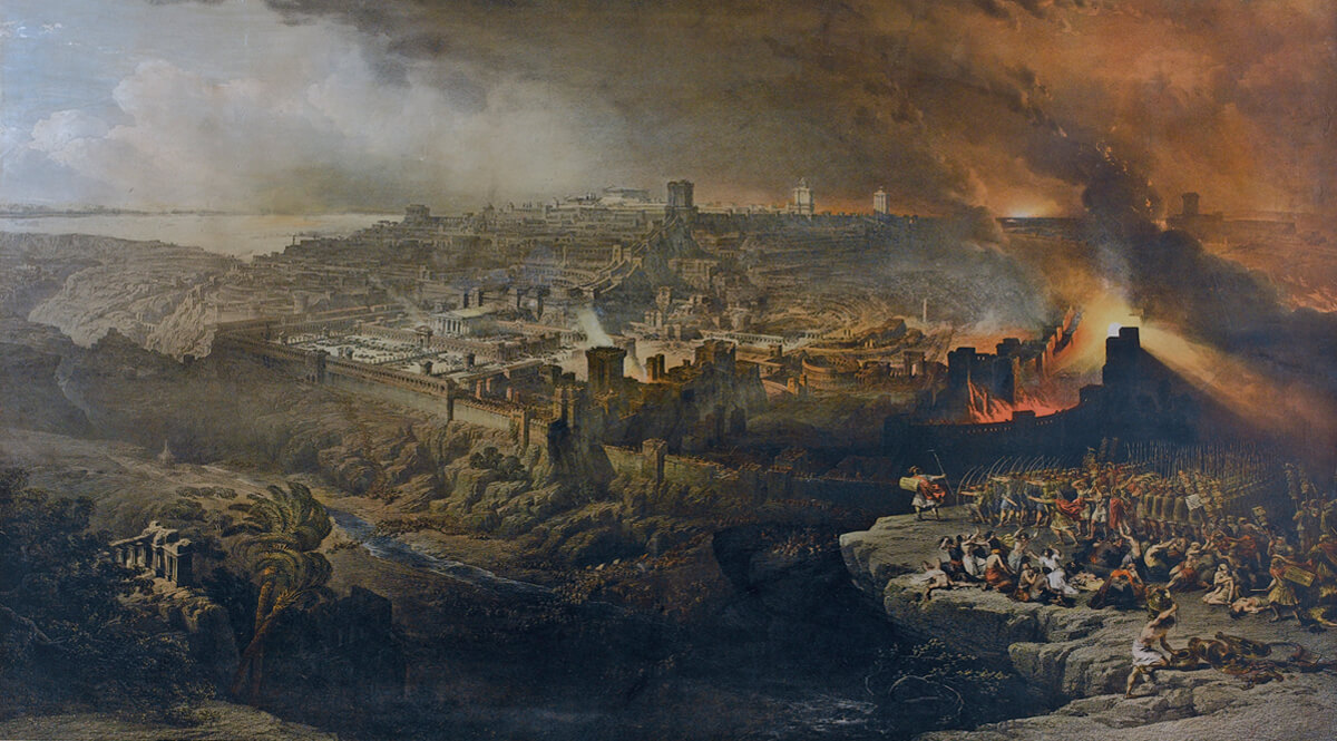 Ezekiel chapter 4 The sieges of Jerusalem part II